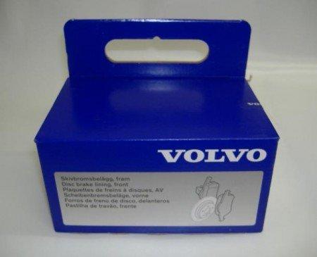 Накладки предни 285.5мм и 305мм Volvo S60 (-2009), S80 (-2006), V70 P26, XC70 (2001-2007) 8634921